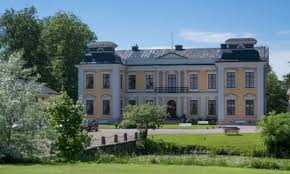 in pictures this swedish palace is for sale moat and all the local
