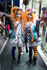 Halloween Japanese Costumes Harajuku Girls Matching Halloween Inspired Snapped
