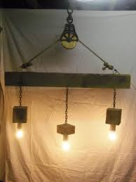 pulley pendant light fixtures beam wood light fixture and pulley pendant light id lights
