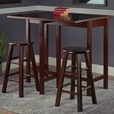 Counter Height Bar Table Red Barrel Studio Bettencourt 3 Piece Counter Height Pub Table Set