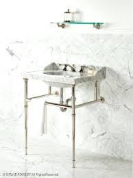 Console Sinks Bathroom Sinks Carrara Marble Console Sink Marble Sink Console 48 Stone