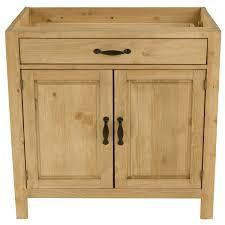 cuisine en pin meuble bas de cuisine en pin massif 120 cm 2 portes 1 tiroir