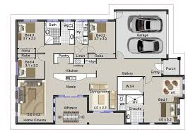3 bedroom floor plans with garage 4 bedroom house plans with garage homes zone