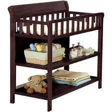 Sleigh Changing Table Amazoncom Badger Basket Sleigh Style Changing Table Espresso