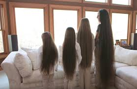 hairstyles suitable for 42 year old woman this 43 year old woman has never cut her hair see how long it is