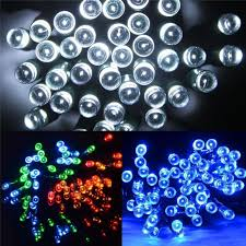 Battery Operated Light Strings by Battery Operated Led Chaser Fairy String Garden Christmas Lights