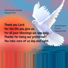 prayer of thanksgiving prayers for you