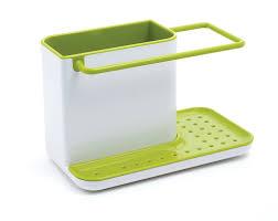 eponge vaisselle avec reservoir joseph joseph caddy rangement d u0027evier petit modèle gris