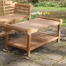 Garden Coffee Table Teak Garden Coffee Table