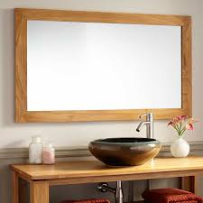 bathroom mirrors best oak framed mirrors bathroom interior