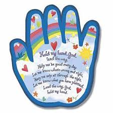 hold my shaped plaque simple prayers children s and child
