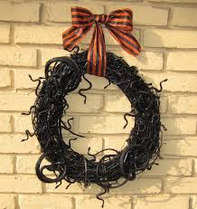 how to make a snake halloween grapevine wreath video