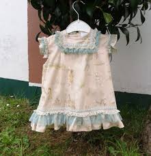 baby dusty pink dress toddler shabby chic clothing