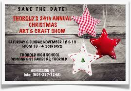 thorold christmas art craft show shop thorold business community