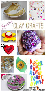 clay craft ideas messy little monster