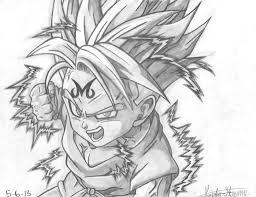 dragon ball drawings pencil drawing art ideas