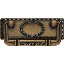 classic hardware bosetti marella 3 82 in antique brass distressed
