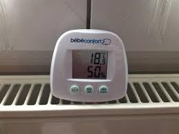 thermometre de chambre bébé thermometre hygrometre chambre bebe 2 thermom232tre b233b233