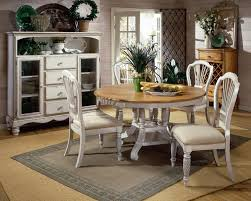 Antique White Chairs Of Late Sets Wooden Dining Table And White Chairs Round Wood