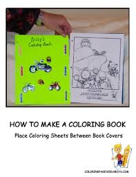how to make a coloring book make your own coloring books free