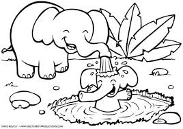 animals coloring pages beautiful decoration jungle animals