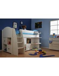 Midi Bed With Desk Children Mid Sleeper Beds Cheap Midsleeper Beds Midi Beds