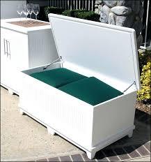 deck storage benches plastic garden storage bench seat garden