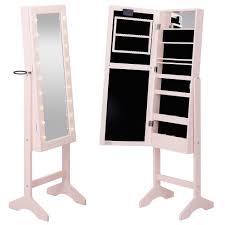 Ikea Wall Mount Jewelry Armoire White Mirrored Jewelry Cabinet Armoire Organizer Storage Wall