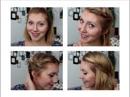 Schnelle Hochsteckfrisurenen Kurze Haare by 4 Schöne Und Schnelle Frisuren Für Kurze Bzw Mittellange Haare