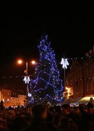 christmas tree bourton on the water dream cities pinterest