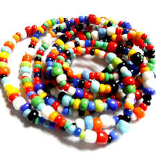 colored beaded necklace images Best seed beaded ethnic necklaces products on wanelo jpg