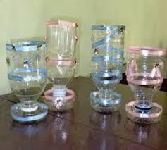 teks prosedur membuat kerajinan lu hias cara membuat gelas hias dari botol kaca dan plastik bekas zona kreatif