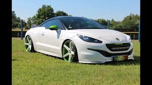 peugeot big cars peugeot rcz tuning big whelles best concept full hd youtube