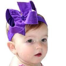 infant hair bows buy purple shimmer baby hair bow headband custom online at