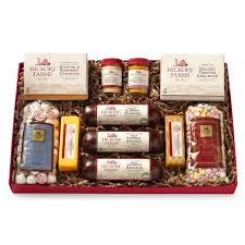 and cheese gift baskets hickory farms
