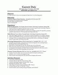 Sample Resume Objectives Business by Engineer Samples Engineering Resume Advertising Intern Resume