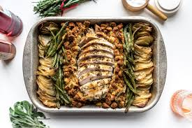 sheet pan turkey dinner recipe i am a food i am a food