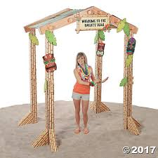 How To Make Tiki Hut Tiki Hut Cardboard Stand Up