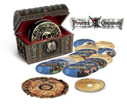 Pirates Of The Caribbean Map by Amazon Com Pirates Of The Caribbean Four Movie Collection Blu