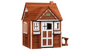 Backyard Play Houses by Cedar Cottage Costco Is A Cute Playhouse With All The Trimmings To