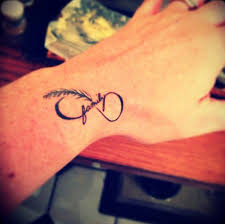 small size infinity symbol tattoo on inner wrist photos