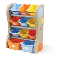 Toy Organizer Ideas Furniture Plastic Angled Toy Organizer With Bins For Home