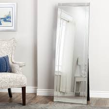 abbyson clarendon standing floor mirror free shipping today