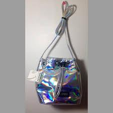 holographic bags joe boxer handbags holographic bag nwt poshmark