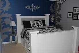 Navy Coral And White Bedroom Blue Bedroom Inspiration Beautiful Trendy Copper Gold Rose Chic