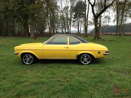 1975 vauxhall magnum 1800 yellow excellent condition firenza viva