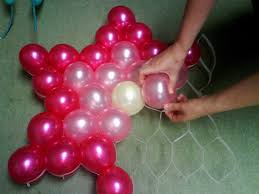 balloon decoration ideas for christmas party decorating of party