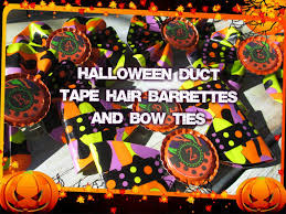 Halloween Duct Tape Crafts How To Make Duct Tape Hair Bows With Bottle Cap Monograms For