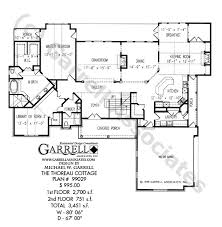 house plans with daylight basement thoreau cottage house plan daylight basement plans
