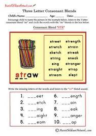 15 best triples images on pinterest consonant blends word work